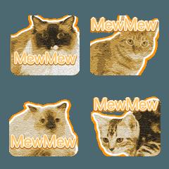 ラブリー猫の絵文字