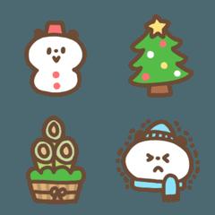 ゆるかわパンダの冬(クリスマス/お正月etc)