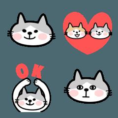 使いやすい猫の絵文字