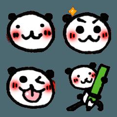 使いやすい!手描きパンダの絵文字 2