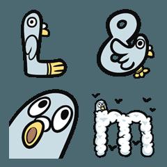 Mr Pigeon Emoji