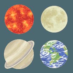 星占い&天体の絵文字