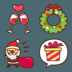 Happy X'mas Emoji