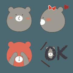 くまくん絵文字⭐︎日常使い用