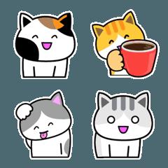 猫の絵文字