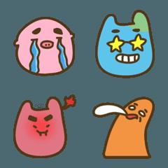 Strange creature / Emoji