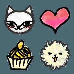 猫と毛玉の妖精 ネコ・コーヒー・ケーキ