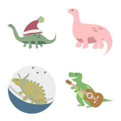 恐竜はちょっとかわいいです