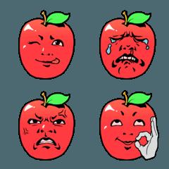 絵文字で煽りんご