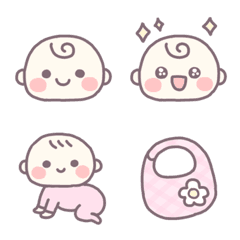 茶ふち絵文字 ♡ 8