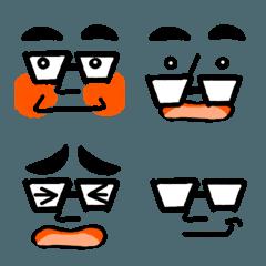 メガネのよっちゃん絵文字2