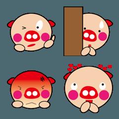 可愛い子豚の絵文字1