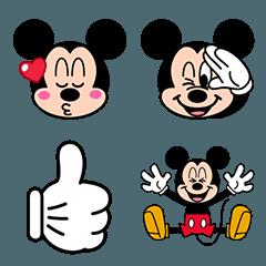 ミッキーマウス 絵文字