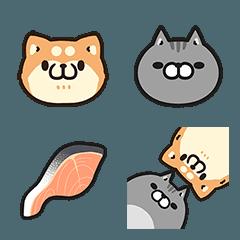 ボンレス犬とボンレス猫 絵文字