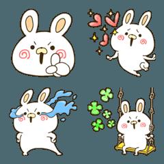 男前ウサギ 絵文字