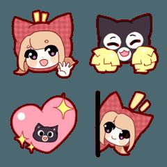 Serena & her Ninja Cat! Emoji