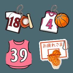 背番号トーク(野球・バスケットボール)