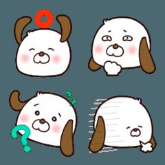 ぶーわん絵文字(犬)