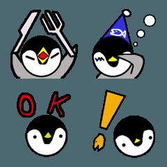 絵文字ペンギン