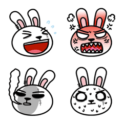 TwoG Rabbit emoji 01
