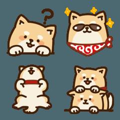 可愛い柴犬の日常絵文字