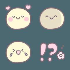 茶ふち絵文字 ♡ 10