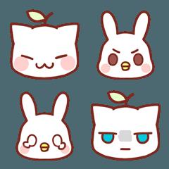 Grasscat&Chicken-Rabbit Emoji