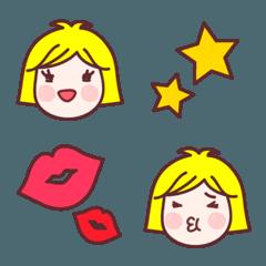 かわいい女の子 - Emoji