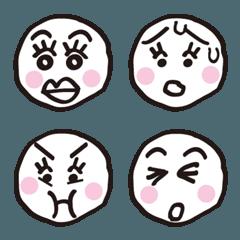 心にしみる顔文字▶︎女性