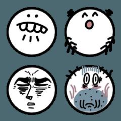 変顔系絵文字(シンプル)
