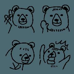 ポケファス 落書きクマ