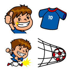 サッカー 絵文字