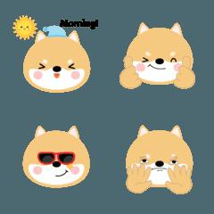 Cute Face Shiba Inu emoji