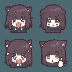 猫系メンヘラちゃん。の絵文字。