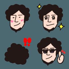 オレ絵文字1【もじゃヒゲ専用】