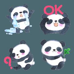パンダのプクプク 絵文字