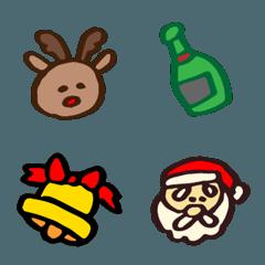 クリスマスの絵文字