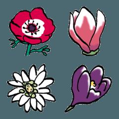 この花の名前なんだったけ絵文字