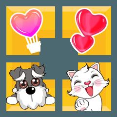 Dou Dou & Kitty Cara - かわいいフレーム