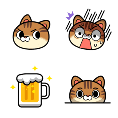 Cat Head Emoji #2