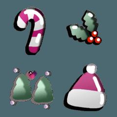 Hato Hati Emoji - X-mas Card