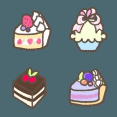 ケーキ絵文字