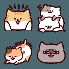 まるい猫たちの絵文字