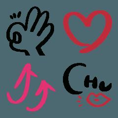超シンプル絵文字