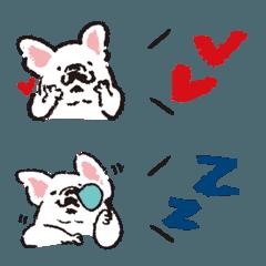 フレブル&ふきだし【シンプル絵文字付き】