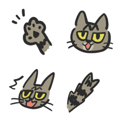 キジトラ猫なぎまるの絵文字