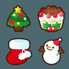 クリスマスの楽しい絵文字
