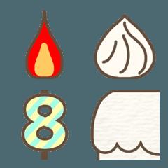 組み合わせ誕生日ケーキ 中身選択可能