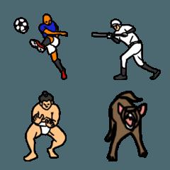 絵文字な人々(スポーツ)