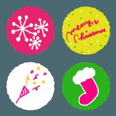 クリスマスのエモジ2